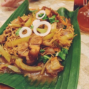 One of the best pancit in Metro Manila