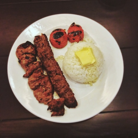Beef Chelo Kabab