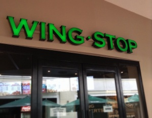 Wing Stop sign