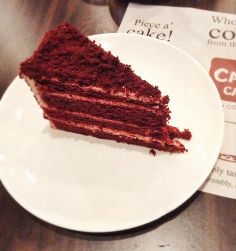Red Velvet Cake Bitter Aftertaste