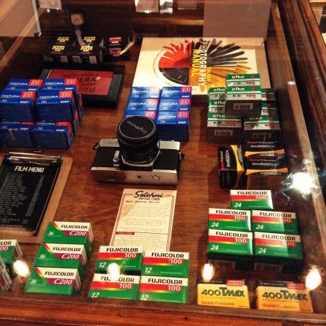 They also sell vintage cameras with some film cartridges. Kid these days would not know of the agonies of using these buggers!