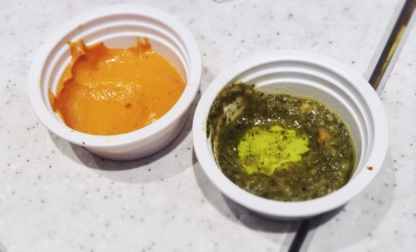 Roasted Bell Pepper and Pesto