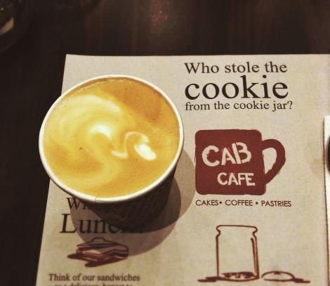 Caffe Latte Cab Cafe