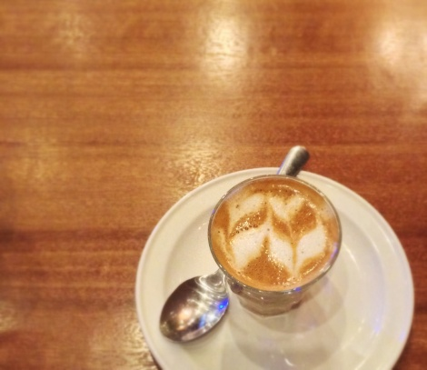 Potts Point Cafe - Second Floor, Eastwood Mall, Libis, Quezon City (In the Picture: Piccolo Latte)