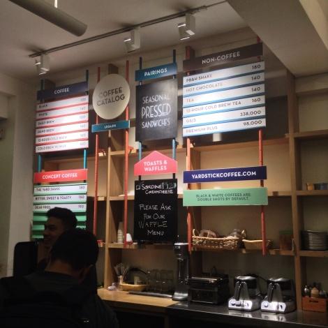 Yardstick Coffee - round Floor, Universal LMS Building, 106 Esteban Street, Legaspi Village, Makati City