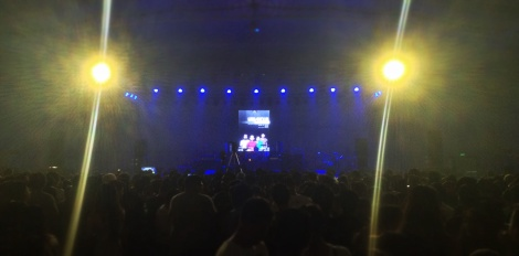 Look at the crowd! The Metrotent filled up wanting to see Urbandub complete for the last time