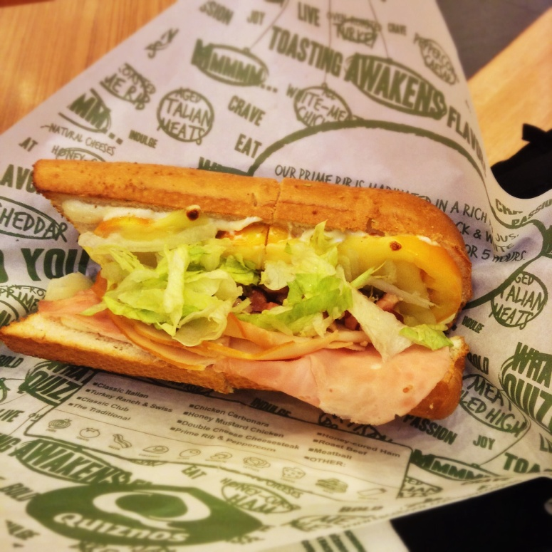 Look at how clean and fresh that sub looks!