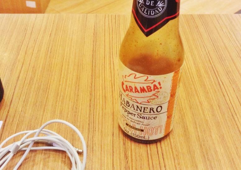 Ay Caramba! It's not really hot.