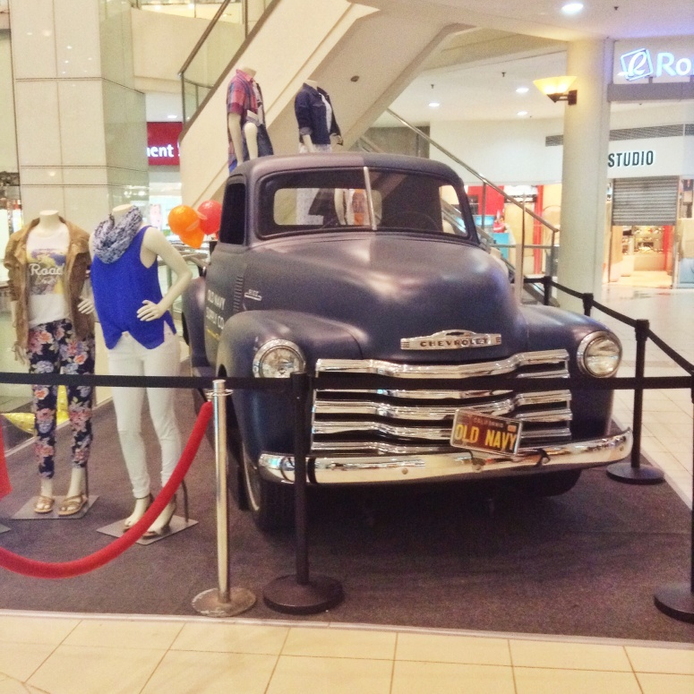 Do you get a free truck when you buy from Old Navy?!
