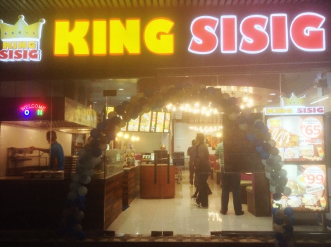 King Sisig, Farmers Market, Araneta Center, Cubao, Quezon City