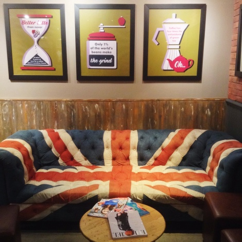 A Union Jack couch. Why?