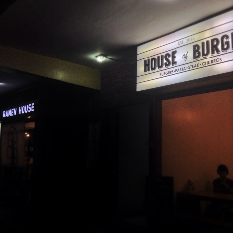 House of Burgis is right next to Happon... and just as small