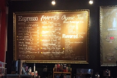 Espresso! Coffee! Cookies! I love this place so much already!