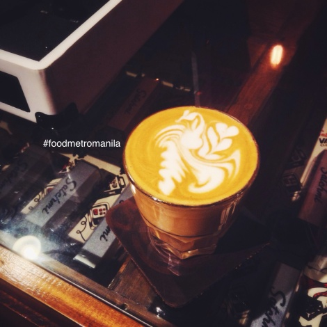 I captured that beautiful flat white from Satchmi. More of those on the instagram @foodmetromanila
