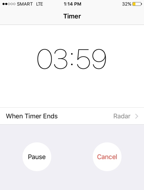 Don't have a timer? Use your phone! Duh!