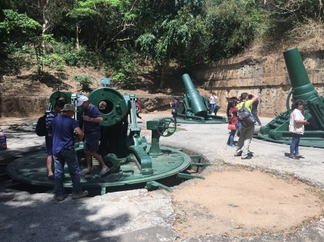A staple of the Corregidor Day Tour: Battery Way